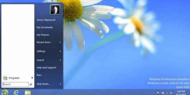 Cara Menampilkan Icon Tombol Start Menu di Windows 8