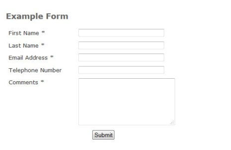 Simple Form to Email PHP Contact Form