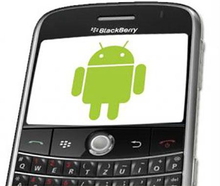 Aplikasi Android di BlackBerry