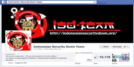 Indonesian Security Down Team