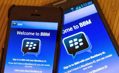 Welcome BBM for Android and iOS