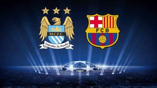 Barcelona Vs Man City Logo