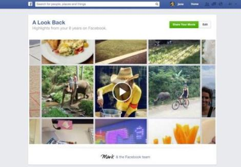 Video Look Back Facebook